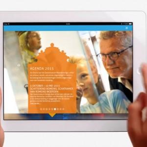 Agenda op iPad