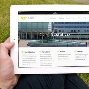 Nlstatics responsive op iPad